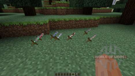 Ore Swords [1.7.10] for Minecraft