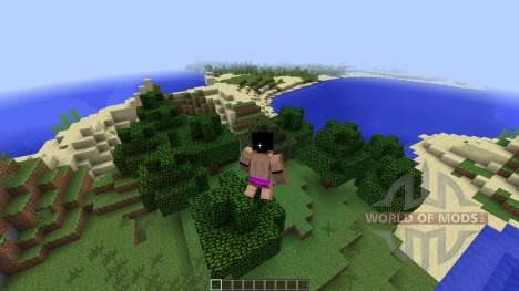 Animated Player [1.7.2] for Minecraft