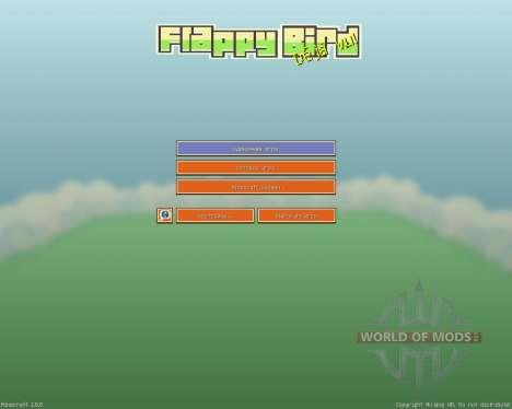 Flappy Bird Resource Pack [16x][1.8.8] for Minecraft