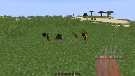 Old Guns [1.8] for Minecraft