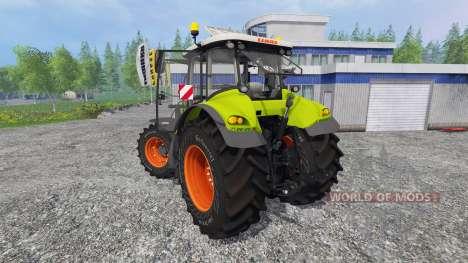 CLAAS Axion 850 v5.0 for Farming Simulator 2015
