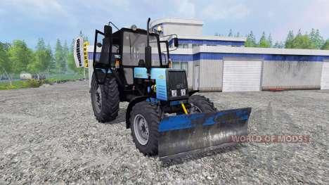 MTZ-Belarus 1025 [blade] for Farming Simulator 2015