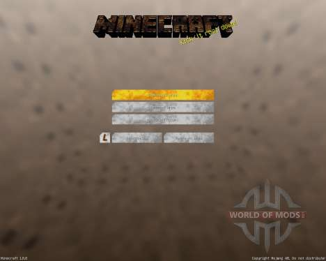Industrial GUI Pack [16x][1.8.8] for Minecraft