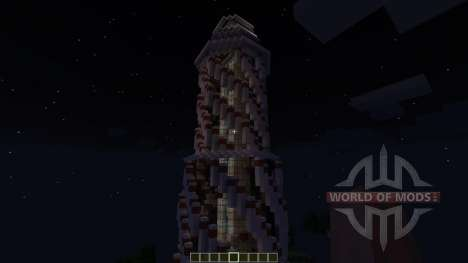 Futuristic Redstone Lighthouse [1.8][1.8.8] for Minecraft