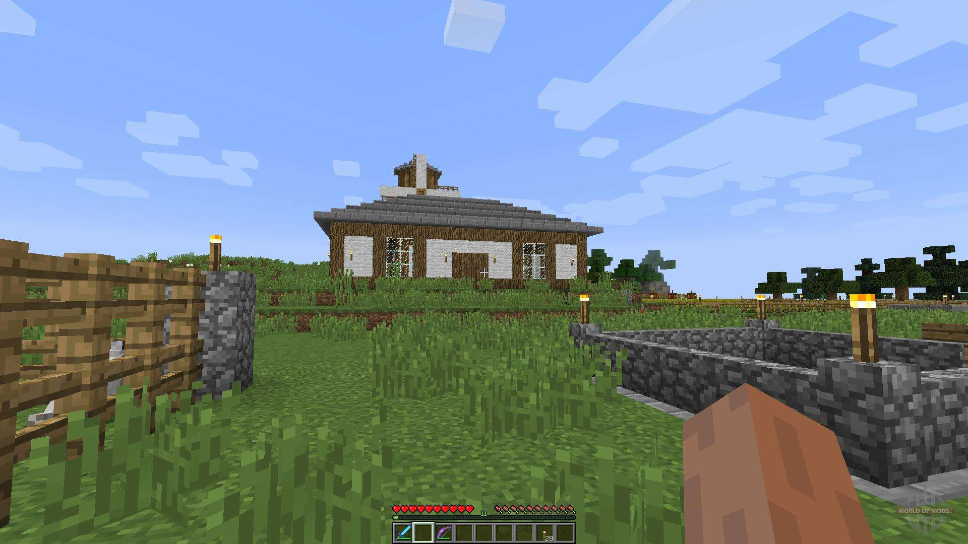 Tudor Mansion [1 8][1 8 8] for Minecraft