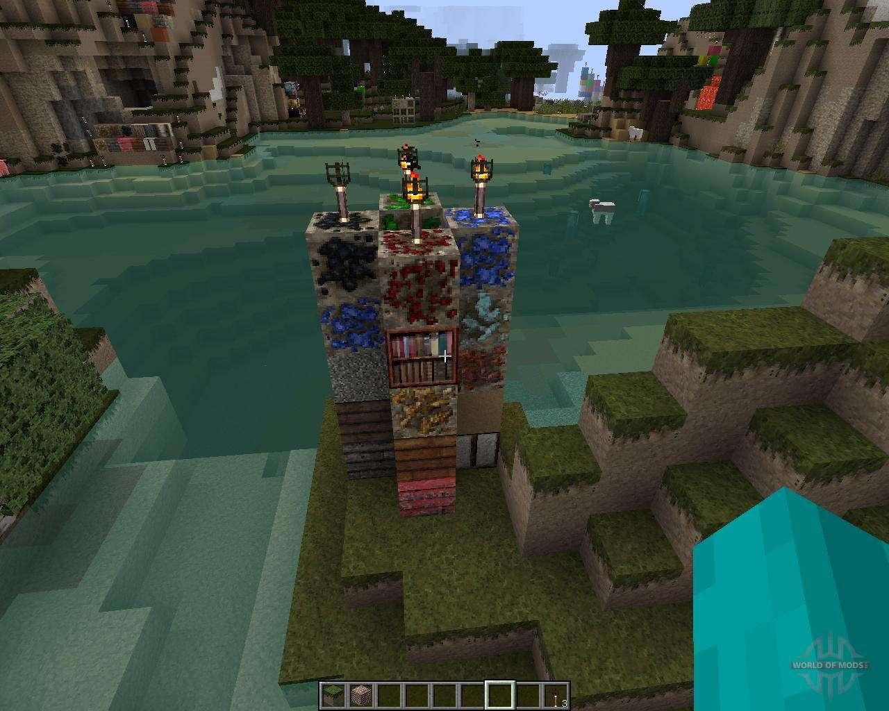 Скачать текстуры для Майнкрафт 1.8 - ресурс-паки Minecraft 1.8
