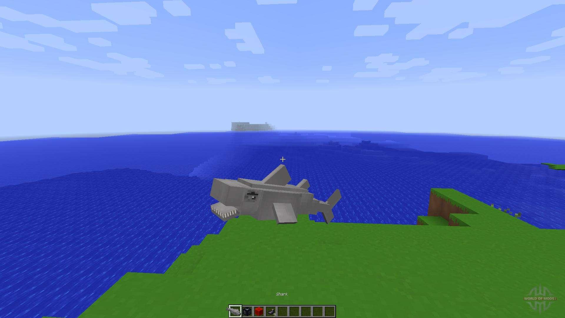 Shark Simulator in Vanilla Minecraft[1 8][1 8 8] for Minecraft