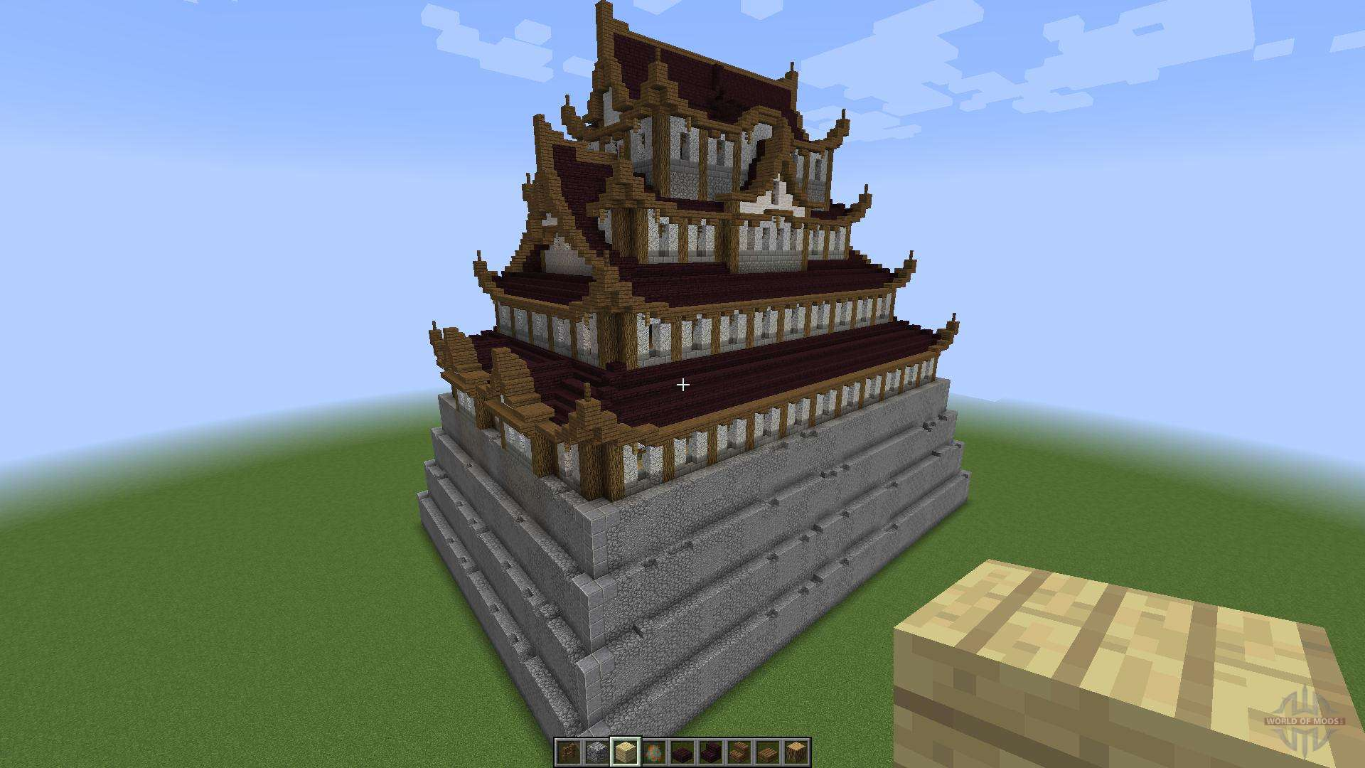 japanese castle 18188 for minecraft - Minecraft Japanese Pagoda