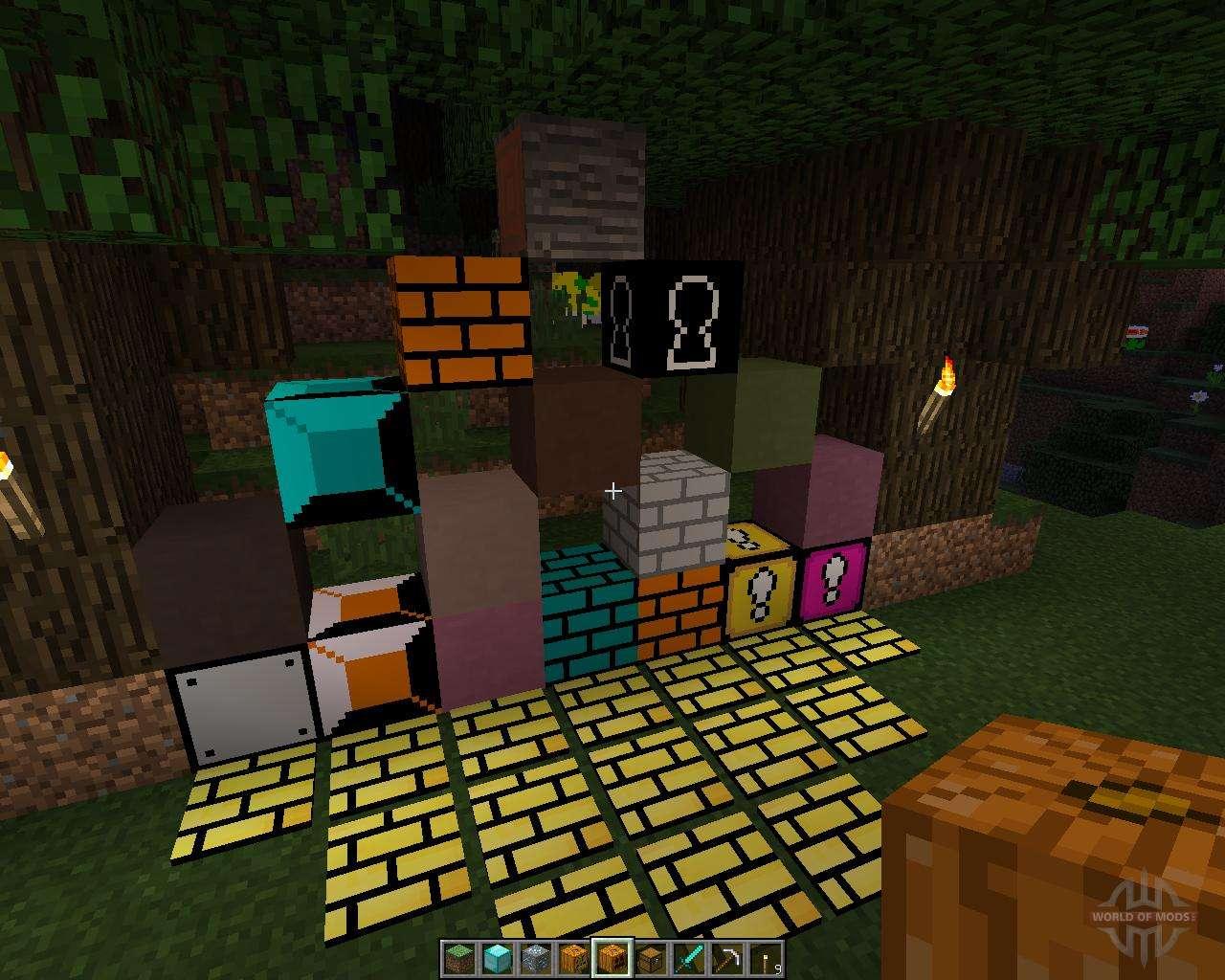 minecraft mod 1.7 10 mario