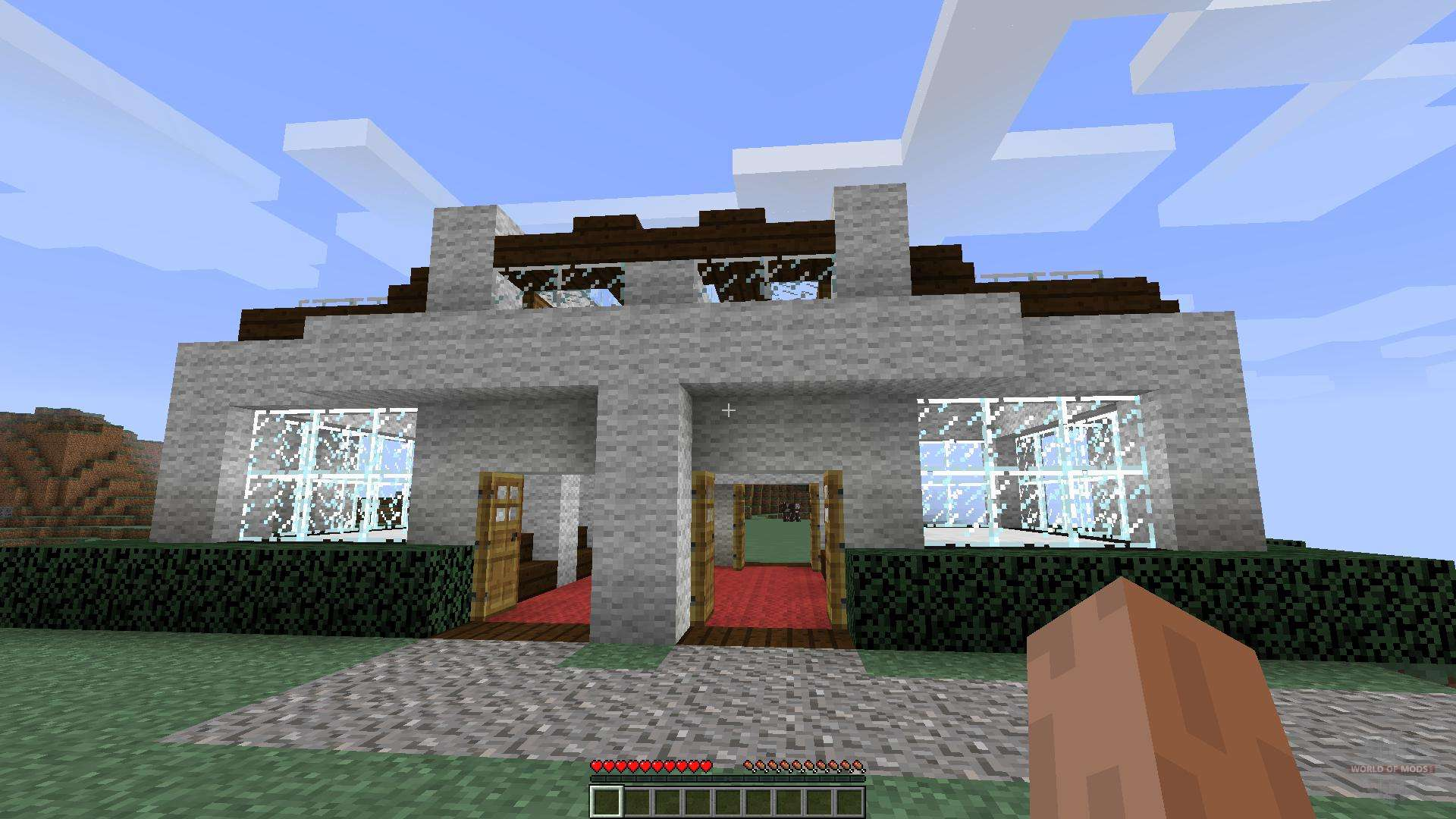 House Designs On An Island 1 8 1 8 8 For Minecraft