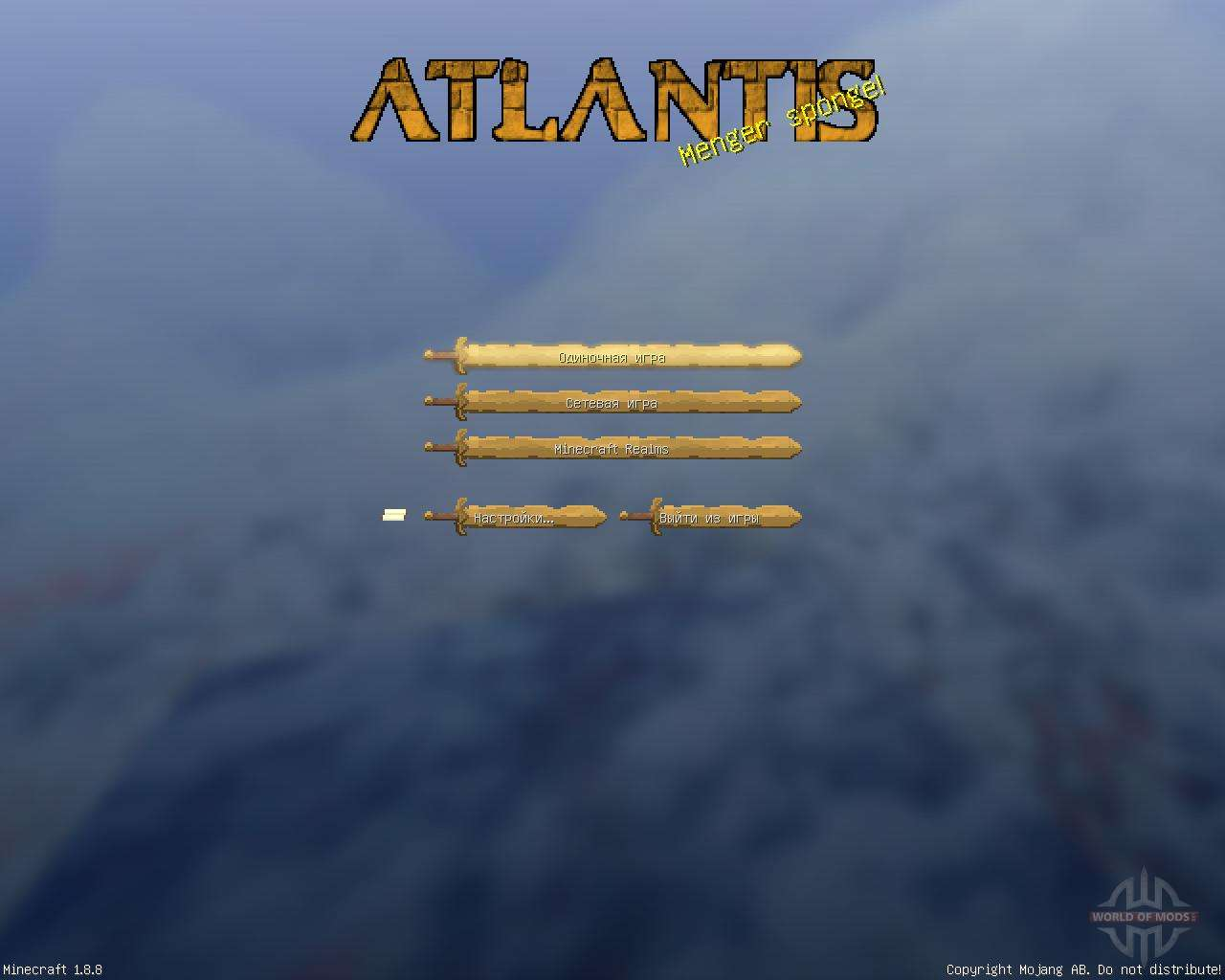 Royal Atlantean GUI Pack [16x][1 8 8] for Minecraft
