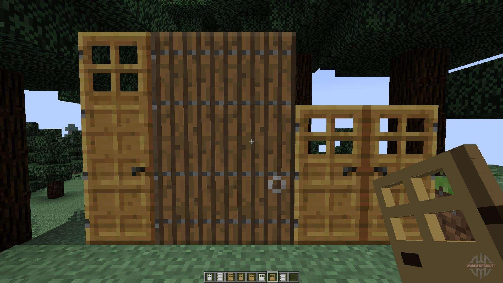 Roxas Tall Doors 1 7 10 1 7 2 For Minecraft