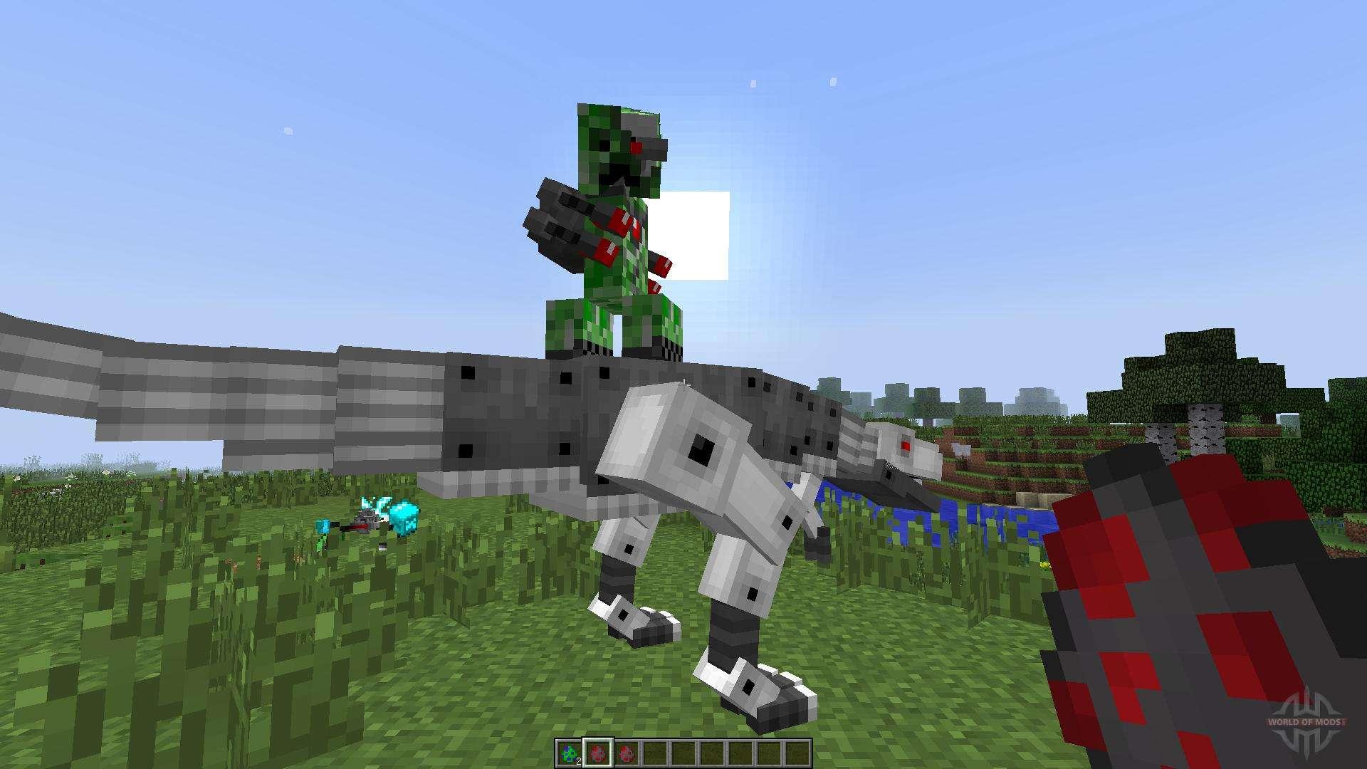 мод на роботов в майнкрафт 1.7.10 #1