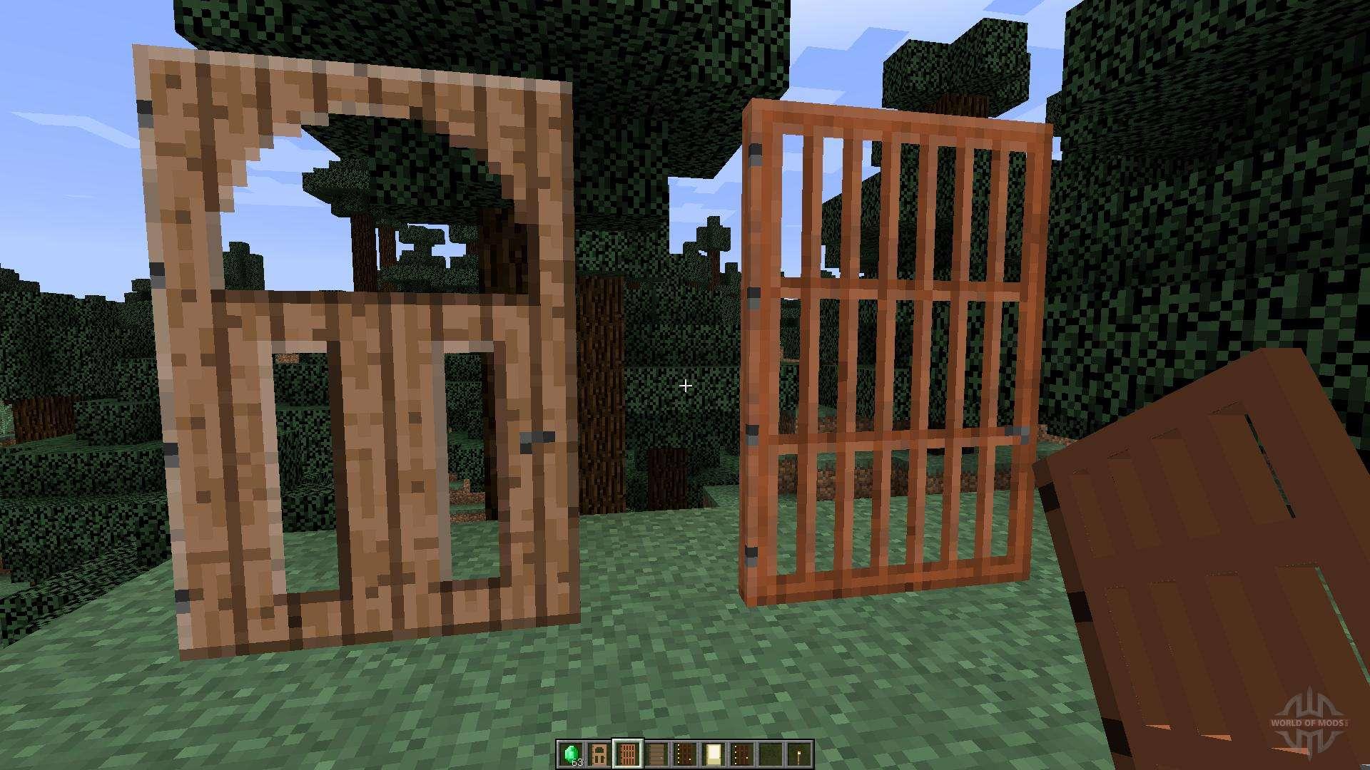 & Roxas Tall Doors [1.8] for Minecraft