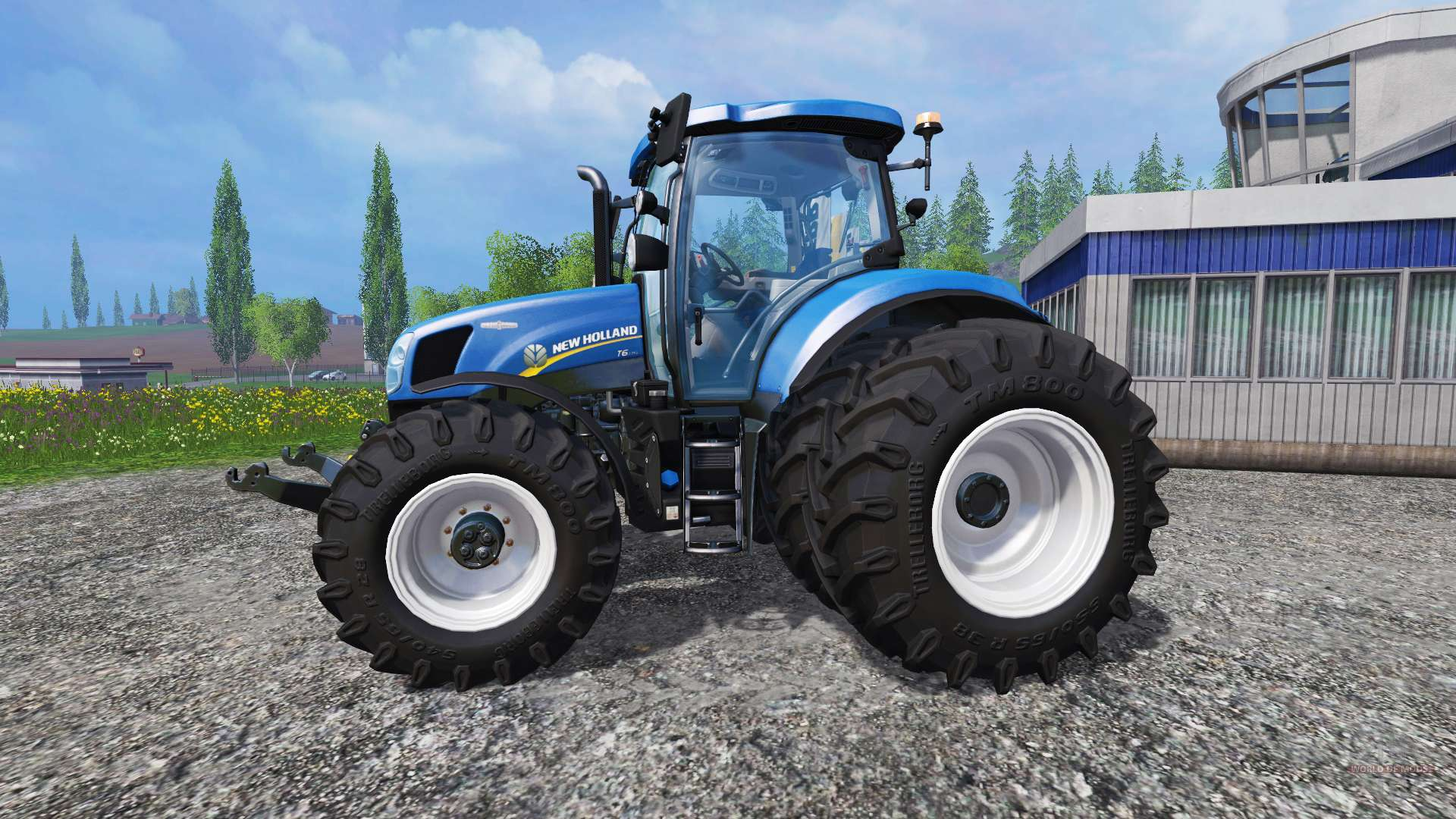 New Holland Tire Rims : New holland t twin wheels for farming simulator