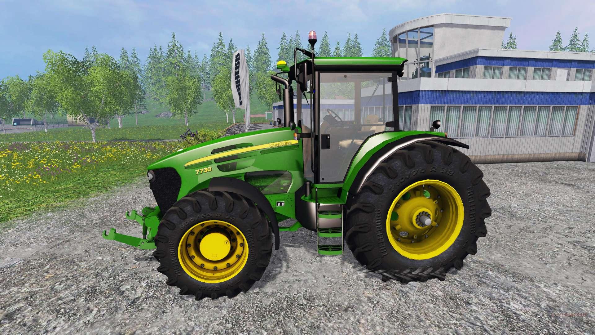 трактор Massey Fergusson 8220 - agroru.com