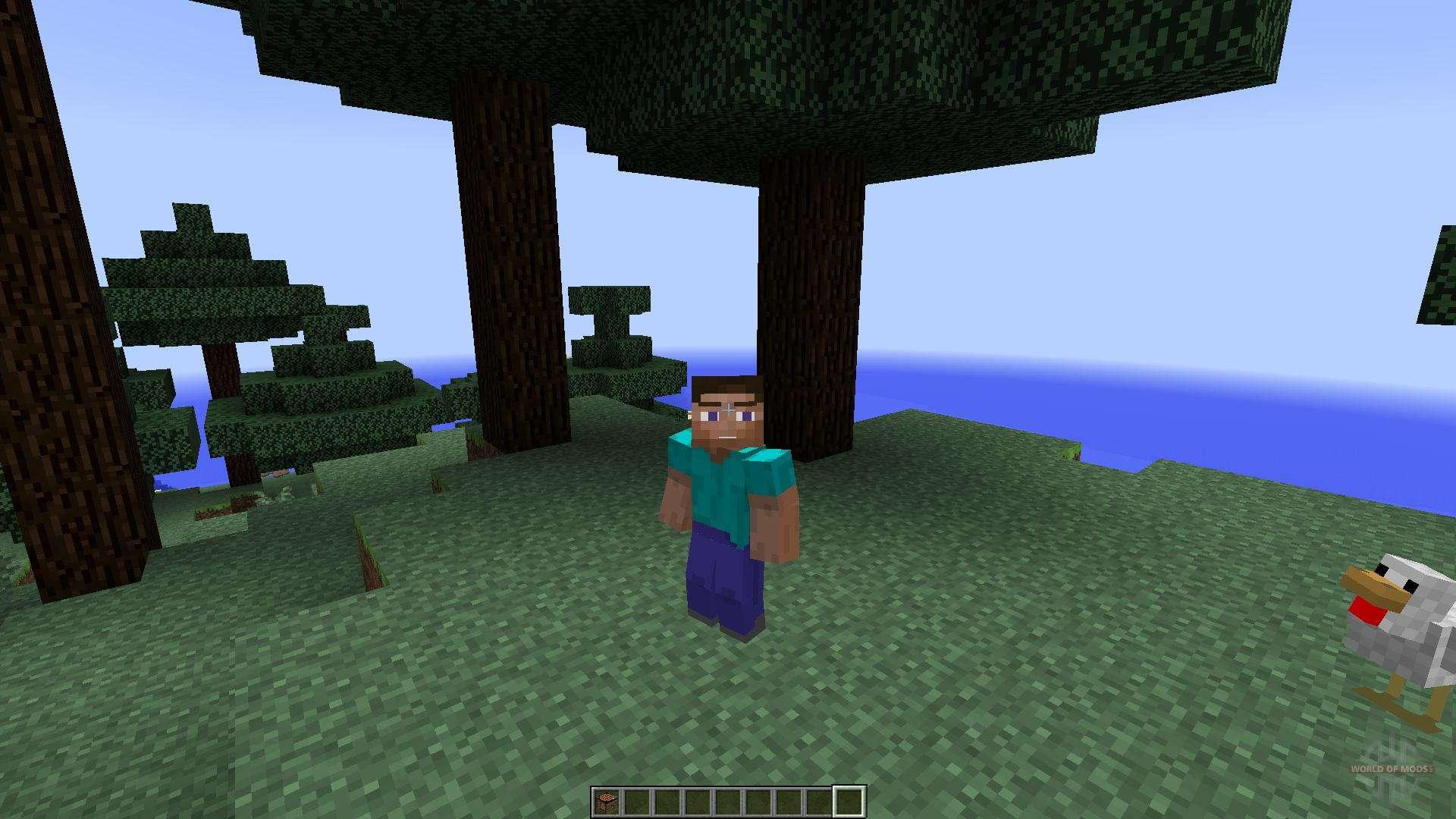 Скачать мод Animated Player для Minecraft 1.8.1