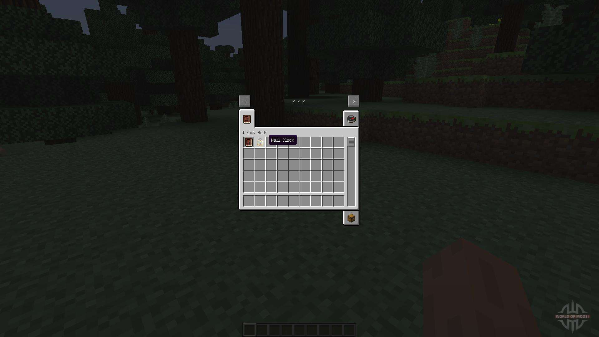 Wall Clock 1710 For Minecraft