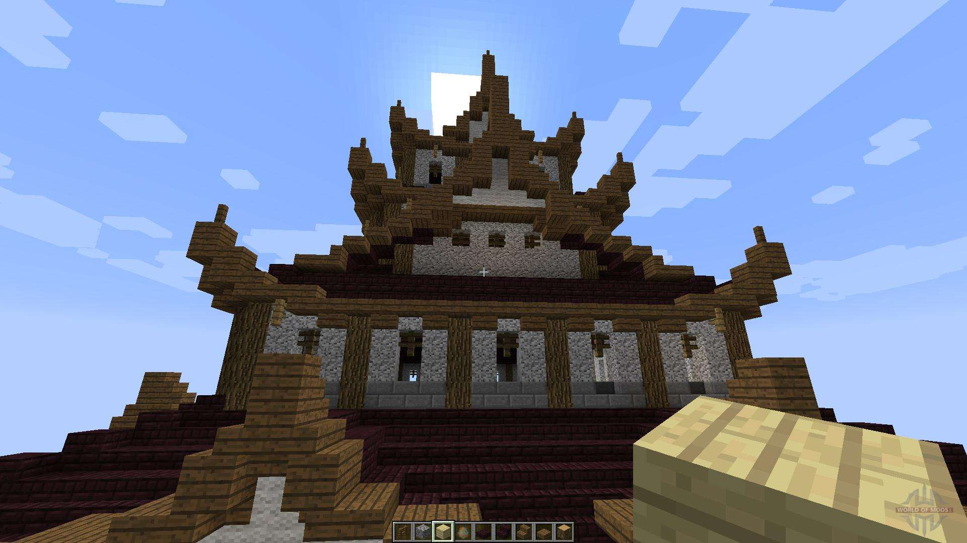 Japanese castle 18188 for minecraft gumiabroncs Images