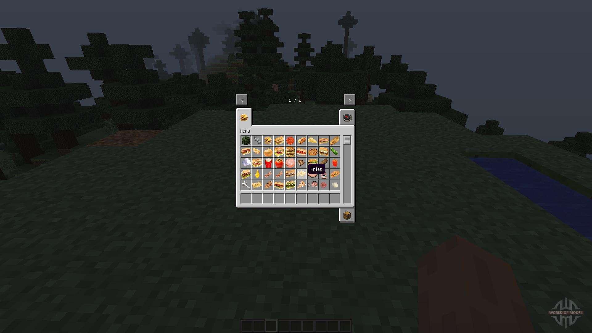 fast food mod 1 for minecraft. Black Bedroom Furniture Sets. Home Design Ideas