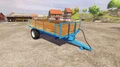 Single axle tipper trailer for Farming Simulator 2013