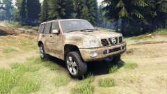 Nissan Patrol 2005 for Spin Tires