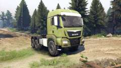 MAN TGX for Spin Tires