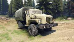 Ural-43206 is a 4x4 for Spin Tires