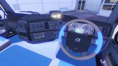 New interior at Volvo trucks for Euro Truck Simulator 2
