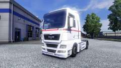 Skin Wheels Logistics on the truck MAN for Euro Truck Simulator 2