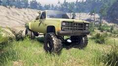 Chevrolet Silverado Dually Crew Cab v1.4 green for Spin Tires