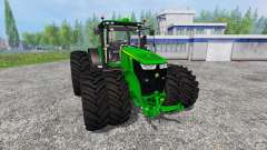 John Deere 7290R and 8370R v1.0b for Farming Simulator 2015