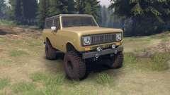 International Scout II 1977 buckskin for Spin Tires