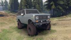 International Scout II 1977 agent silver for Spin Tires