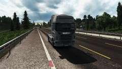 Graphics mod for Euro Truck Simulator 2