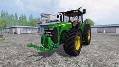 John Deere 8330 v2.1 for Farming Simulator 2015