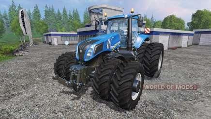 New Holland T8.275 Twin Wheels v1.1 for Farming Simulator 2015