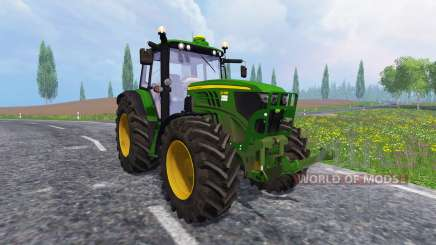 John Deere 6140M for Farming Simulator 2015