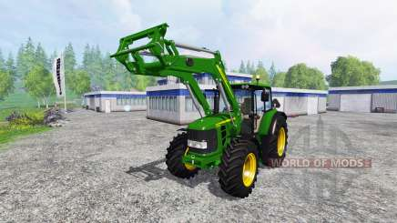 John Deere 6630 Premium front loader for Farming Simulator 2015