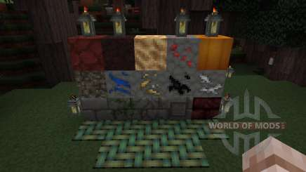 Glendale 3D Blocks Resource Pack [32x][1.8.8] for Minecraft