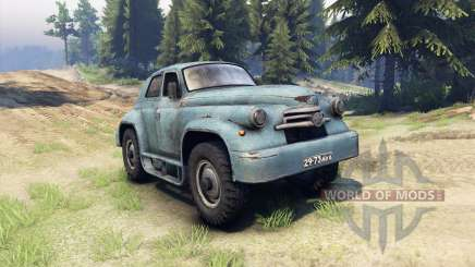 GAZ-M-20 Victory custom for Spin Tires