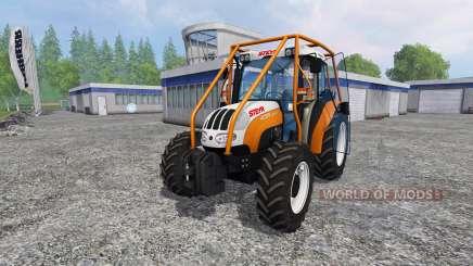 Steyr Kompakt 4095 forest for Farming Simulator 2015