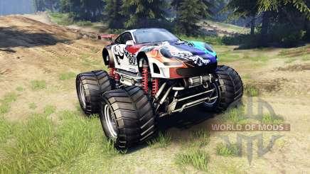 Porsche 911 GT3 RSR Monster for Spin Tires