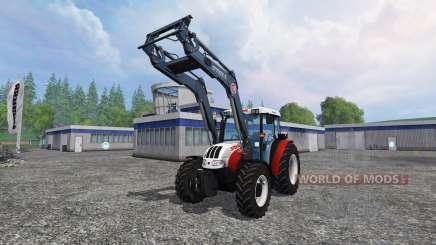 Steyr Kompakt 4095 front loader for Farming Simulator 2015