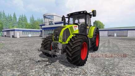 CLAAS Axion 850 v2.5 for Farming Simulator 2015