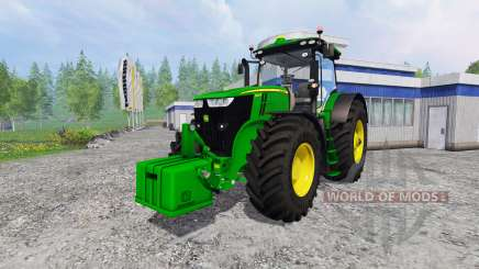 John Deere 7290R and 8370R v0.2 for Farming Simulator 2015