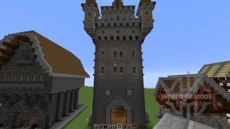Medieval building pack for Minecraft