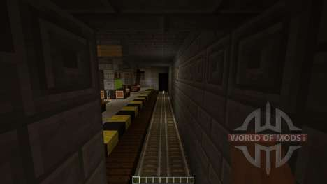 Subway Minecraft 1v1 Map for Minecraft