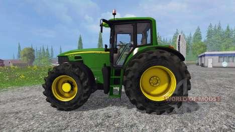 John Deere 7430 Premium v2.0 for Farming Simulator 2015