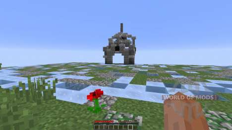 Weather Warzone PvP Map for Minecraft